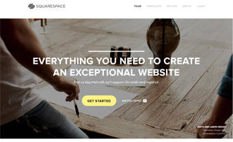 how to change homepage squarespace