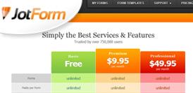 JotForm Review - Score: 9.4