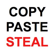 Copy Paste Steal
