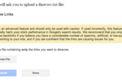 Looking at The Google Disavow Tool For Site Penalties