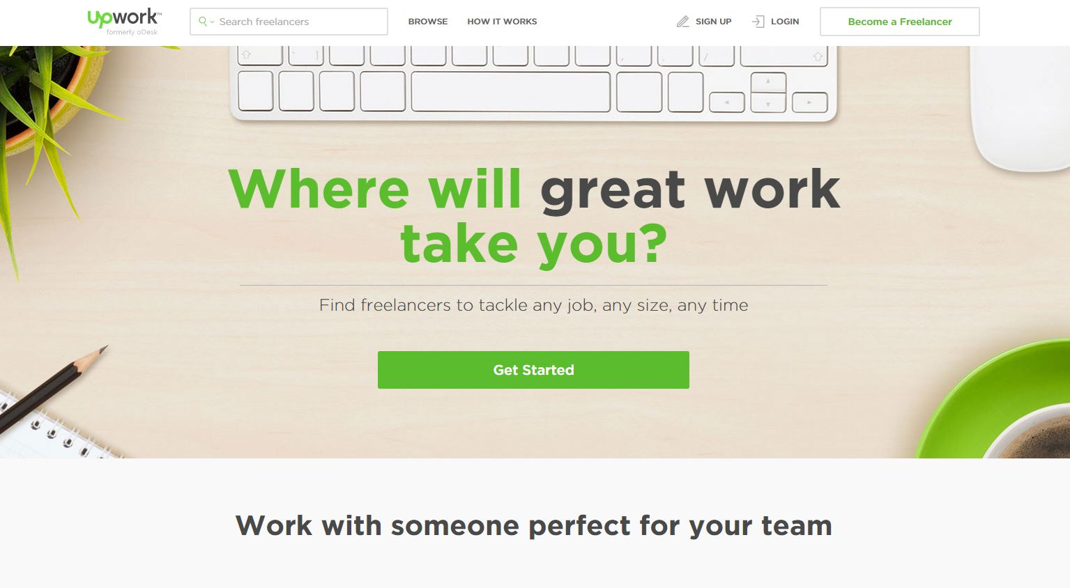 UpWork Review - Score: 8.5
