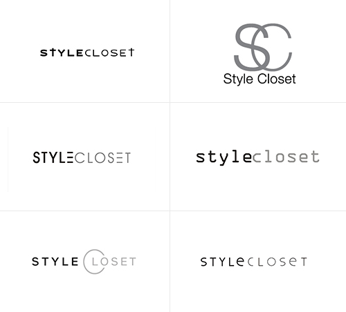 how stylecloset chose their new logo out of 367 designs