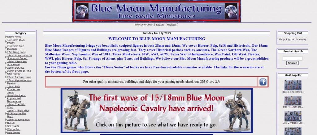 bluemoon homepage