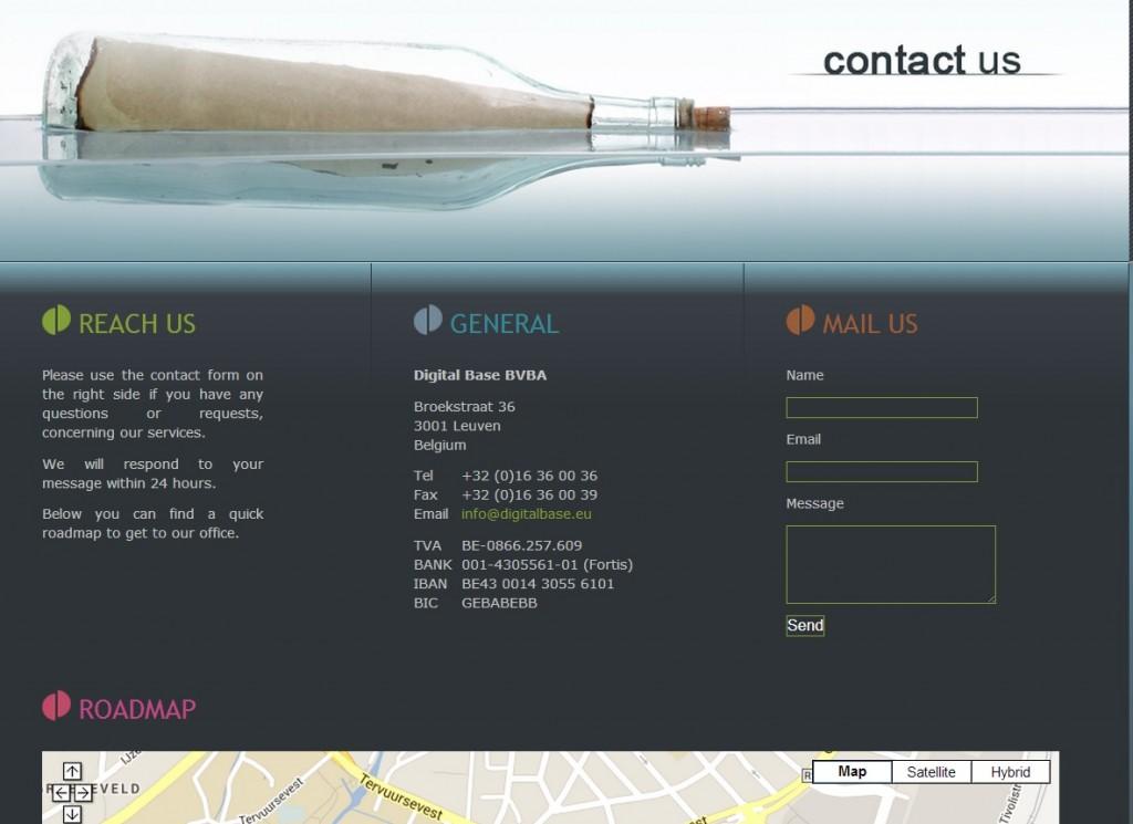 digital base contact