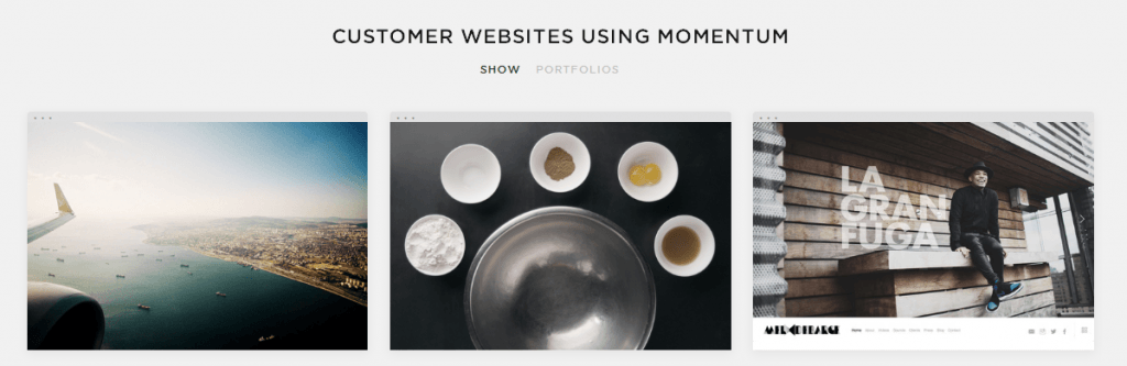 customers using websites