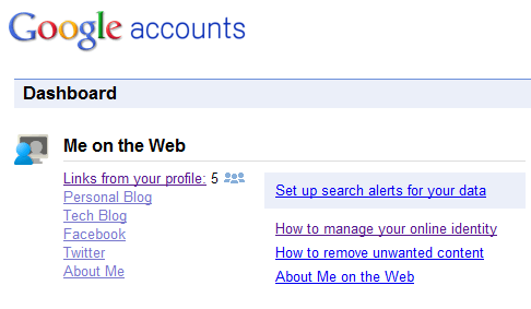 google me on the web