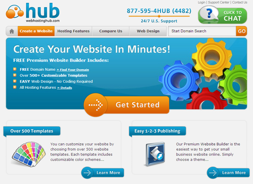 Web Hosting Hub Review - Score: 9.2