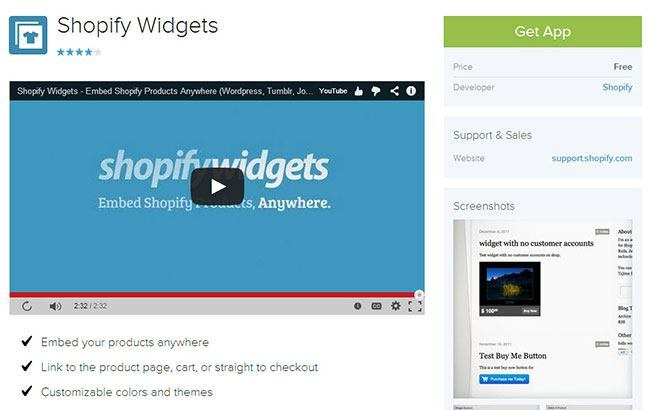 Squarespace eCommerce Store With Shopify Widgets