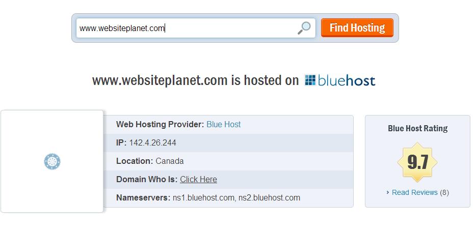 websiteplanet - hosting